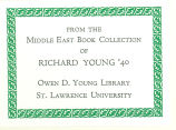 Richard Young Bookplate