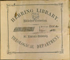 Herring Library Bookplate