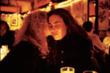 Lynette and Donna at Marion's Restaurant, New York