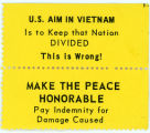 """Night Raiders"" -- U.S. AIM IN VIETNAM Is to Keep that Nation DIVIDED -- This is Wrong! MAKE THE PEACE"