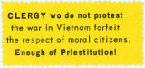 """Night Raiders"" -- CLERGY who do not protest the war in Vietnam forfeit the respect of moral citizens."