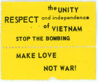 """Night Raiders"" -- the UNITY RESPECT and independence of VIETNAM -- STOP THE BOMBING -- MAKE LOVE NOT"