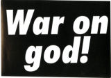 War On God!