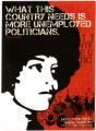 "Angela Davis ""What This Country Needs Is More Unemployed Politicians."""