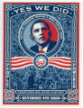 Barack Obama -- 2008 Presidential Election Campaign -- Yes We Did -- People Powered