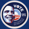 Barack Obama -- 2008 Presidential Election Campaign -- Vote Nov 4th