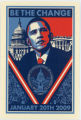 Barack Obama -- 2009 Presidential Inauguration -- Be The Change