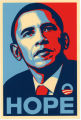 Barack Obama -- 2008 Presidential Election Campaign -- Hope