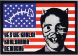 Hallo Karlo -- Barack Obama -- Yes We Karlo! Karl Obama Democat