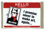 Hello My Name Is ... Alias