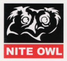 Nite Owl -- White Owl Head