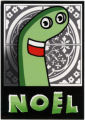 Noel -- Green Sock Puppet
