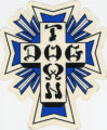 Dogtown Skateboards -- Blue Cross