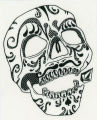 Volcom -- Decorated Skull