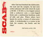 "Industrial Workers Of The World -- SCAB -- ""After God Had Finished The Rattlesnake, The Toad, And The"