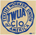 Textile Workers Union Of America -- TWUA CIO -- Logo