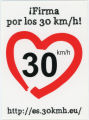 European Citizens' Initiative -- Firma Por Los 30 Km/h!