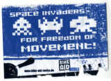 Invader -- Space Invaders -- For Freedom of Movement