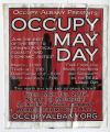 Occupy Wall Street (Movement) -- Occupy Albany Presents: Occupy May Day, Tues. May 1st 2012