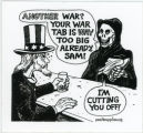 Uncle Sam's War Tab -- Another War? Your War Tab Is Way Too Big Already, Sam!