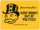 Landon Wix -- Community Chest -- Keep Money Out Of Politics