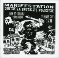 Collective Opposed To Police Brutality (Montreal) -- Manifestation -- Contre La Brutalite Policiere --