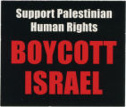 Boycott Israel -- Support Palestinian Human Rights