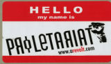 Proletariat -- Hello My Name Is Proletariat