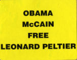 Obama 2008 Presidential Election Campaign -- Free Leonard Peltier
