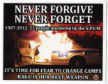 Never Forgive Never Forget -- 1987-2012: 53 People Murdered by the S.P.V.M.