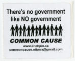 There's No Government Like NO Government -- Common Cause