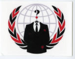 Anonymous -- Suit Without A Head -- Emblem of United Nations