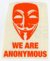 Anonymous -- Guy Fawkes Mask --We Are Anonymous
