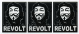 Anonymous -- Guy Fawkes Mask --Revolt