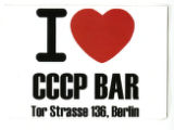 I [Heart] CCCP Bar Tor Strasse 136, Berlin